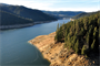 Dworshak Reservoir near Orofino, Idaho in January 2012.